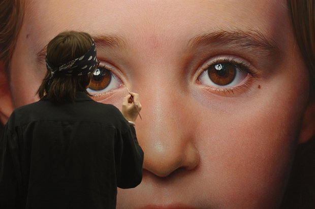retrato de niño Helnwein