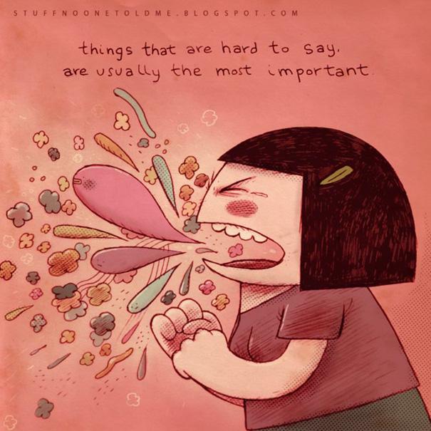 Ilustración de Alex Noriega, personaje gritando SNOTM