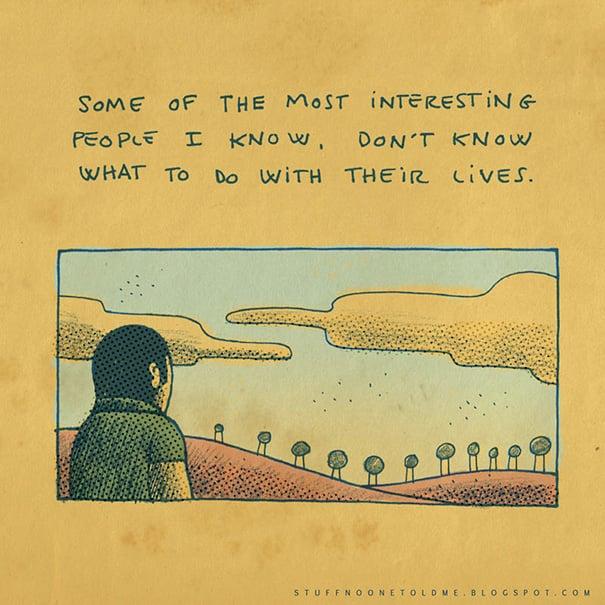 Ilustración de Alex Noriega SNOTM personaje mirando al horizonte