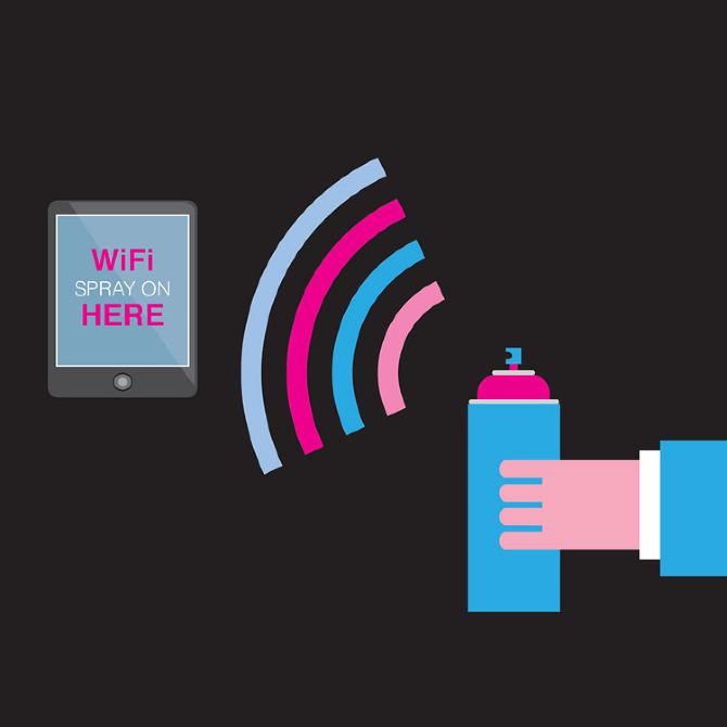 WiFi en aerosol