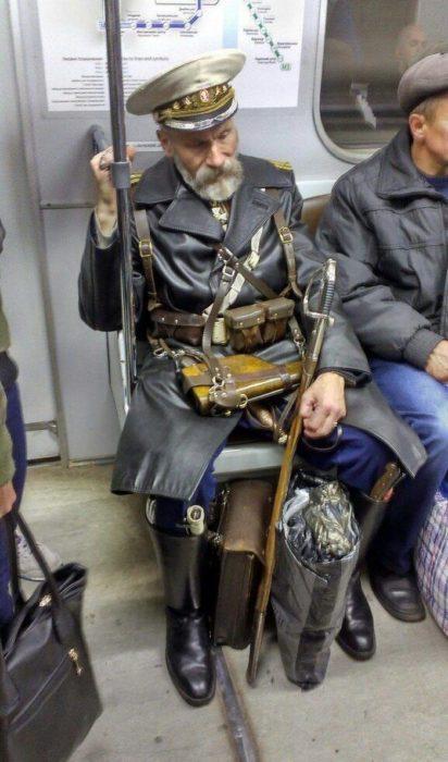 soldado disfrazado