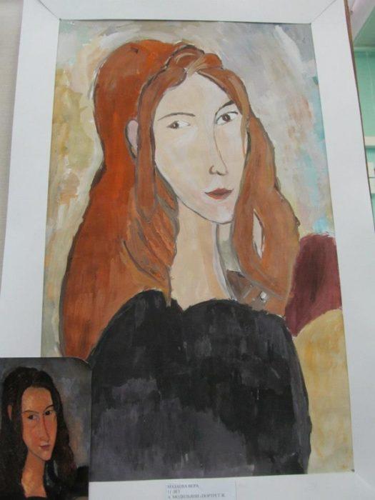 retrato famoso