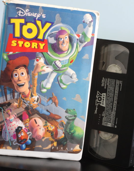 Pelicula Toy Story VHS