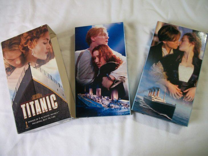 Pelicula Titanic VHS