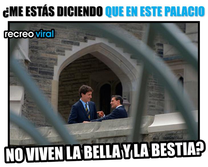 PEÑA NIETO VIENDO EL CASTILLO