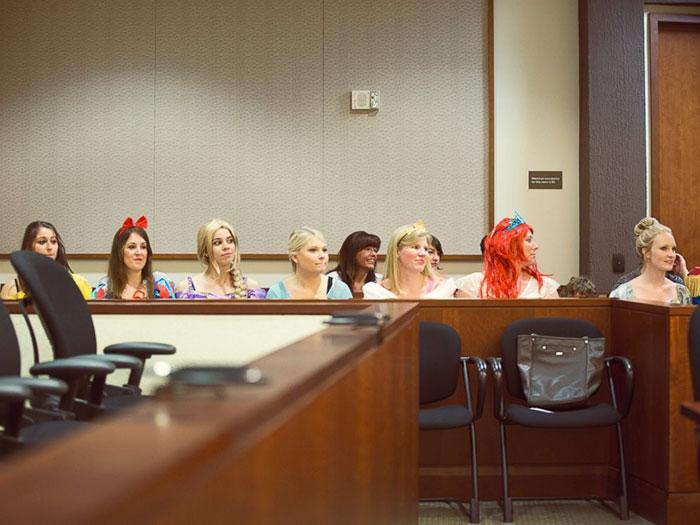 Todas las princesas juntas