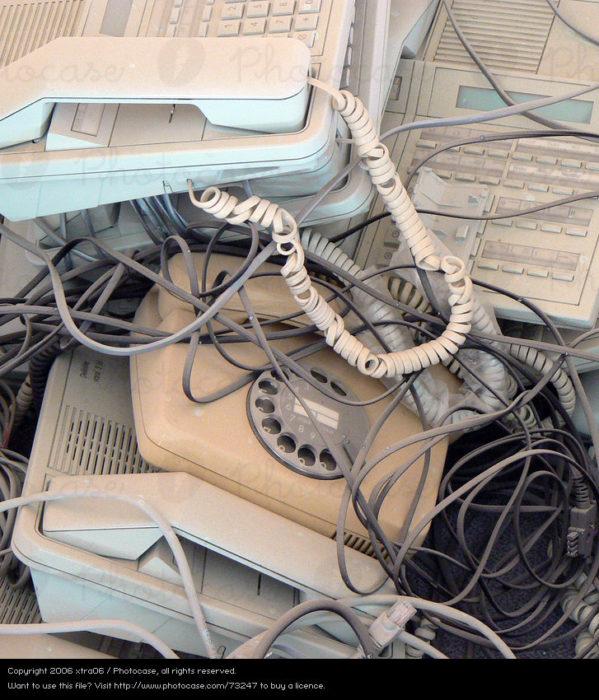 telefono de aros