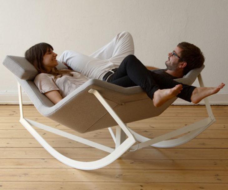 Silla con dos asientos para parejas