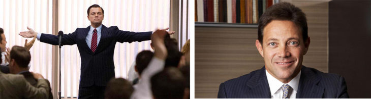Wolf of wall street personificado y real