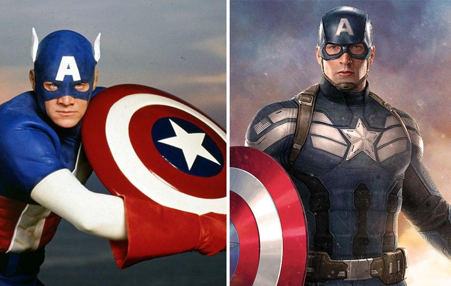 14 superh roes antes y ahora despu s de su evoluci n - Image de super hero ...