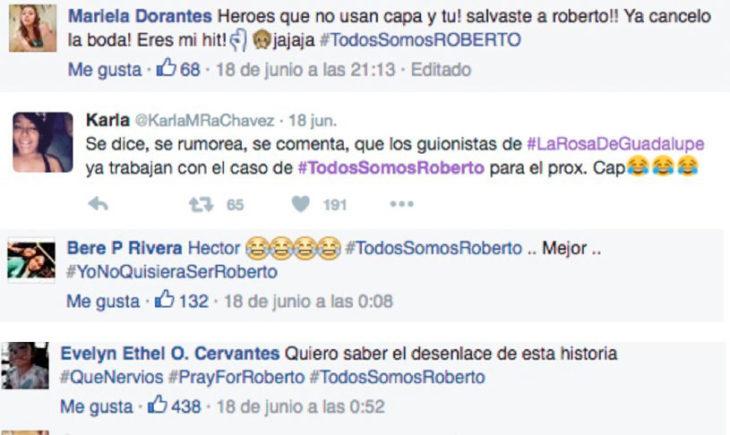 MENSAJES DE AYUDA PARA ROBERTO