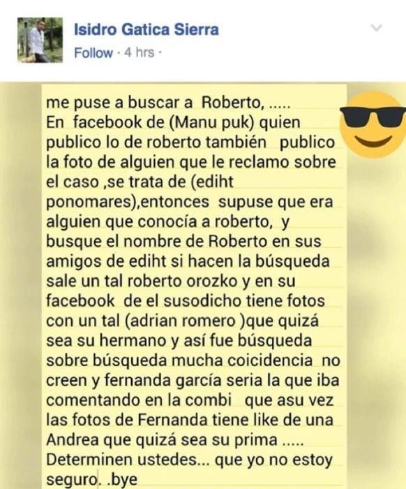 STALKER DESCUBRE LA VERDAD SOBRE ROBERTO