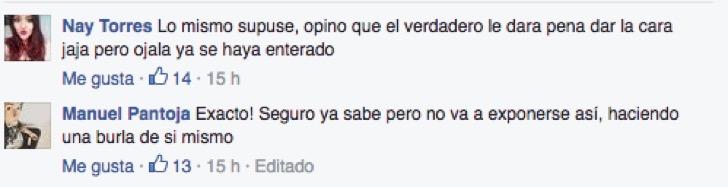 TODOS SOMOS ROBERTO, MANUEL ACLARANDO EL ASUNTO