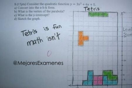 Tetris son matemáticas divertidas