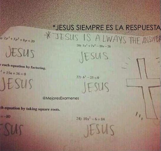 Jesús está en todos lados