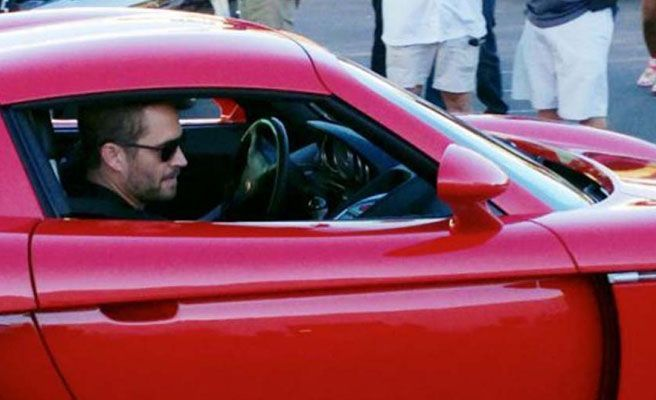 Accidente en carro de Paul Walker