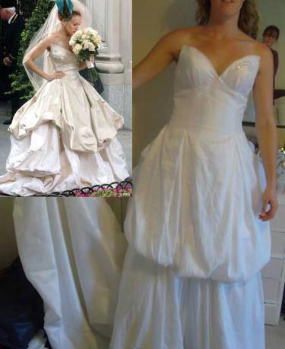 Vestido de novia comprado en línea que termino siendo un fiasco
