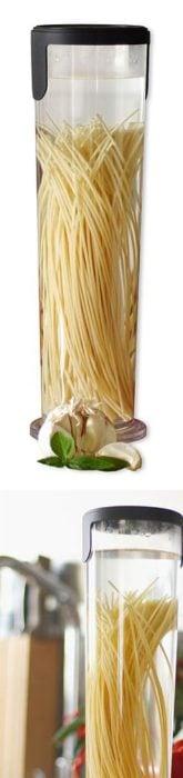 Bote para hacer rápidamente un espaguetti