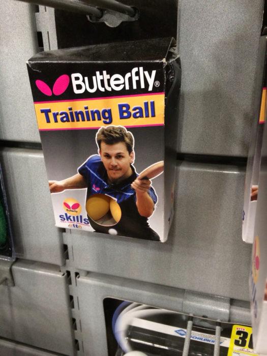 Caja de pelotas de ping pong entrenamiento,