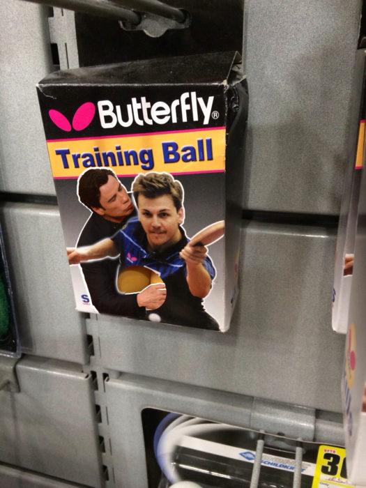 caja de pelotas de entrenamiento de ping pong, Travolta