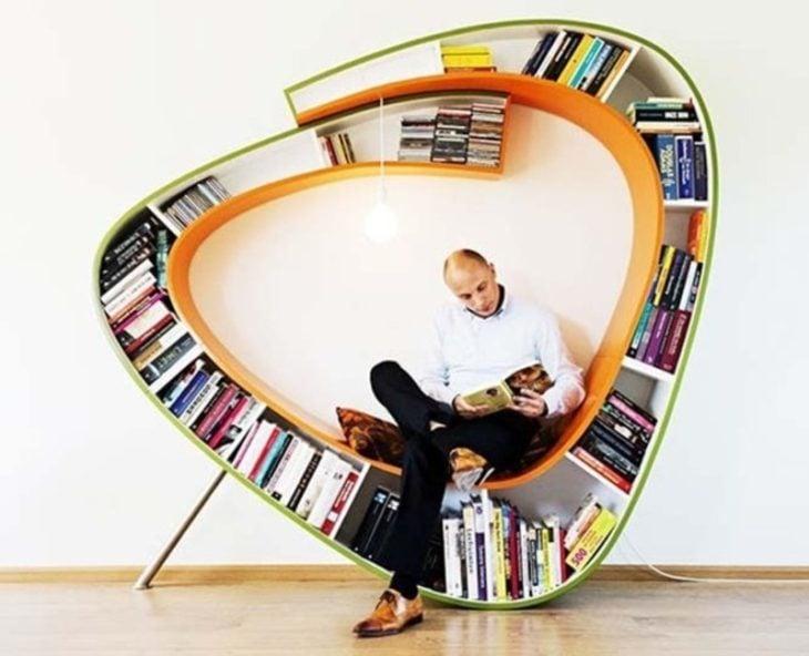 librero silla