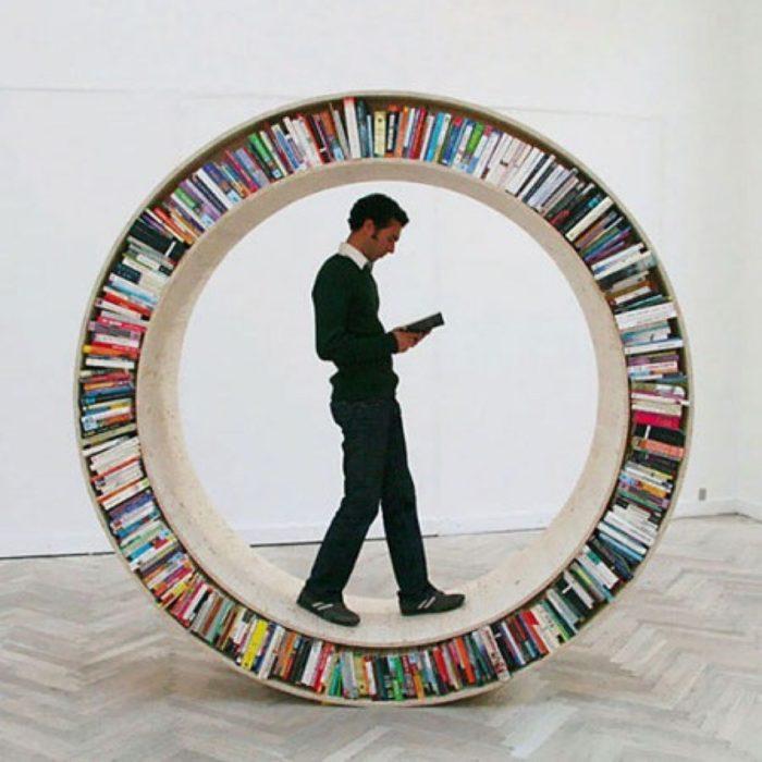 librero de rueda