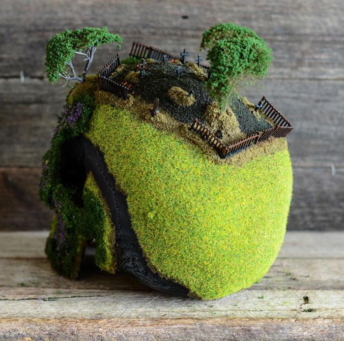 cráneo bonsai 9