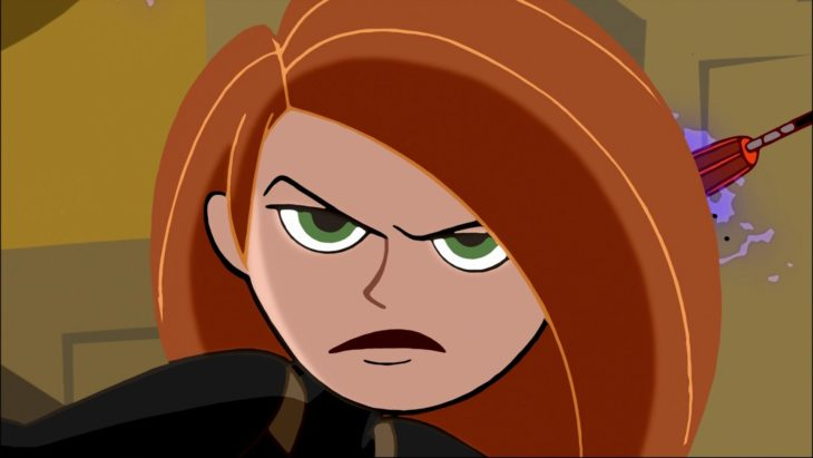 Kim Possible, su boca asemeja un bigote