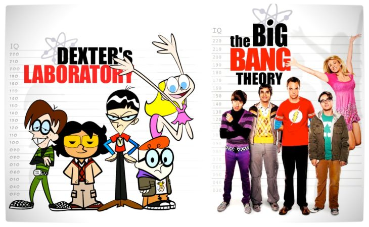 Dexter's Laboratory y The Big Bang Theory