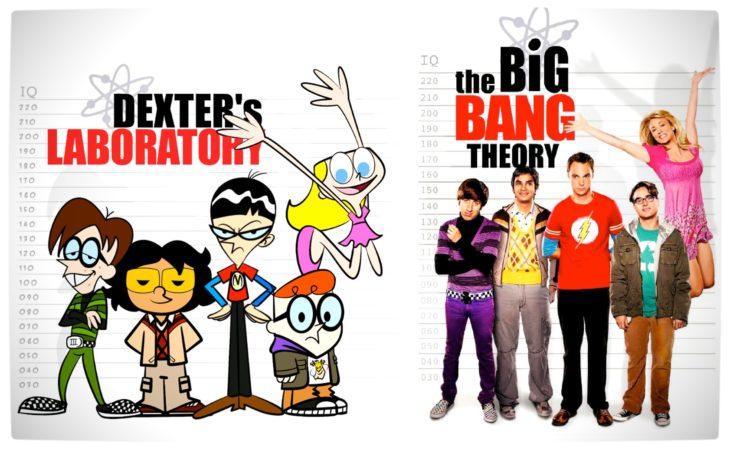 Dexter's Laboratory y The Big Bang Theory