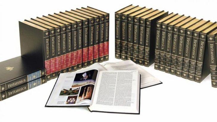 Cosas que antes hacías. Enciclopedia Britannica