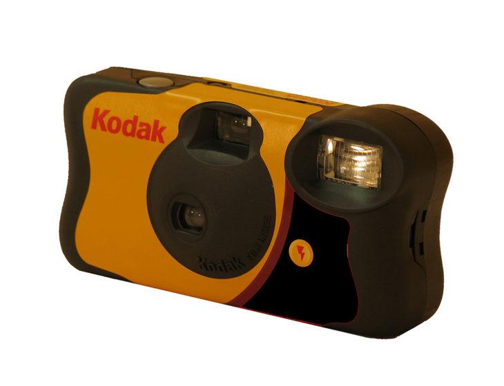 Cosas que antes hacías. Cámara Kodak desechable