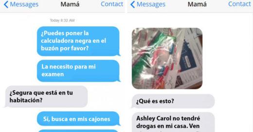 Mama encuentra en el cajon de su hija píldoras que parecen drogas