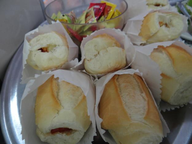 Lonches de jamón