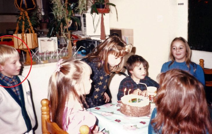 Foto de niños en fiesta de cumpleaños