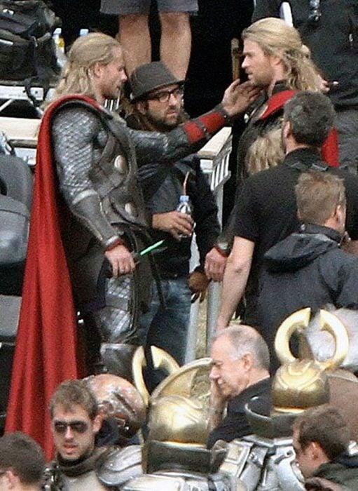 dublê de Thor