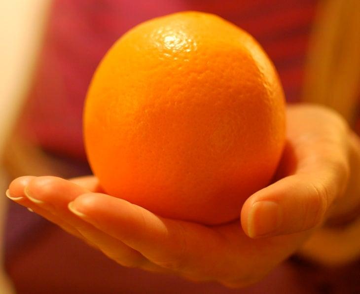 una naranja