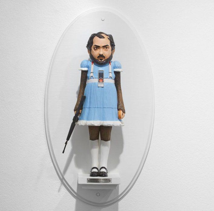 Figurilla de Stanley Kubrick