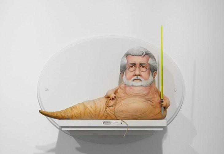Figurilla de George Lucas