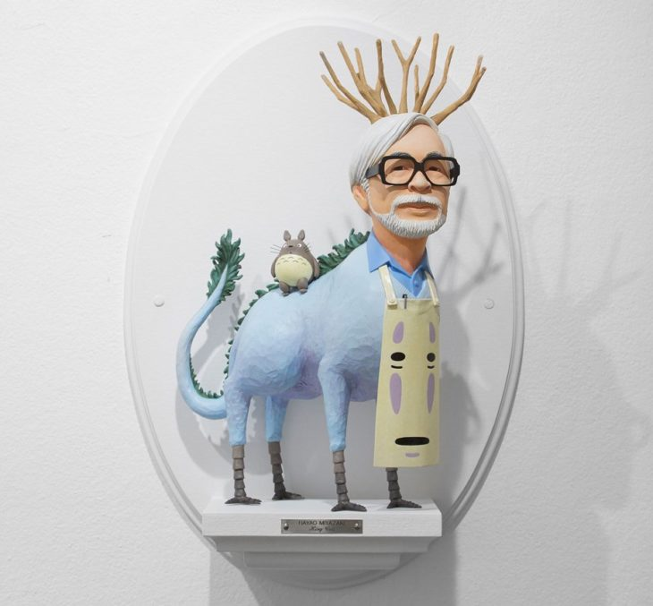 Figurilla de Hayao Miyazaki
