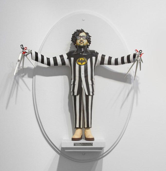 Figurilla de Tim Burton