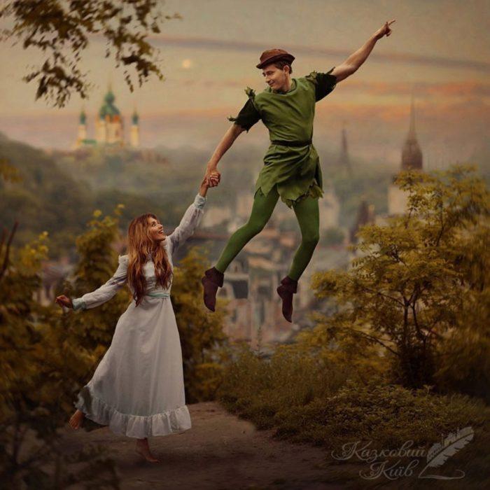 """Fotografía de """"Mágico Kiev"""" del cuento Peter Pan"""