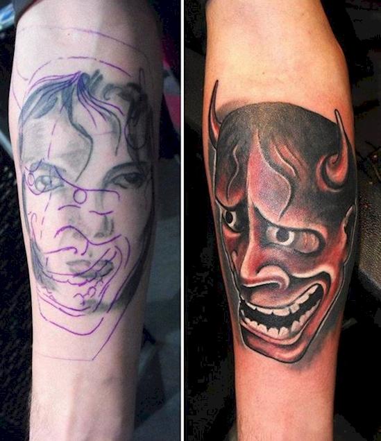 Tatuaje diablo
