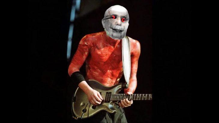 Henrique Mirelles como el guitarrista de Limp Bizkit