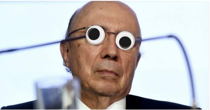 Henrique Mirelles con los ojos locos