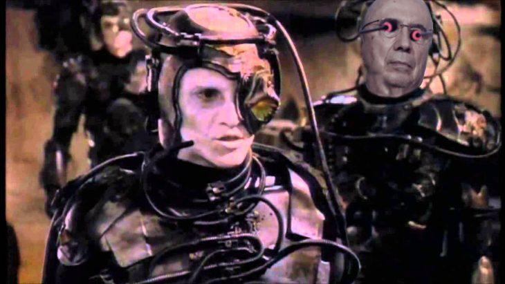 Henrique Mirelles como un personaje de Star Trek