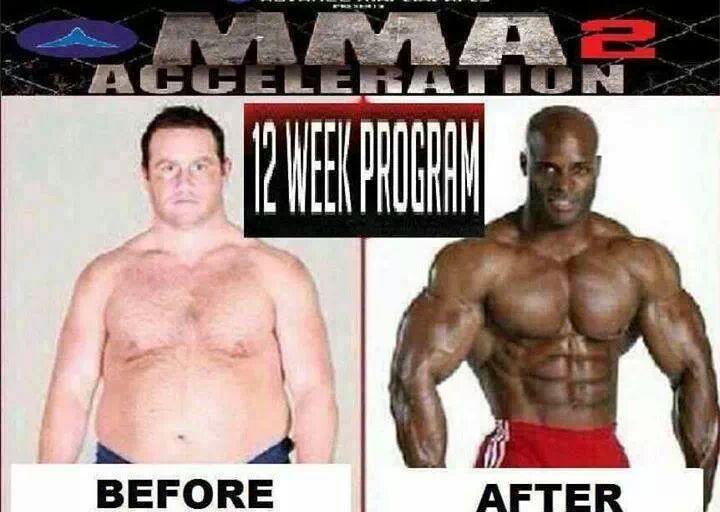 comparación entre hombre blanco gordo y hombre de color musculoso