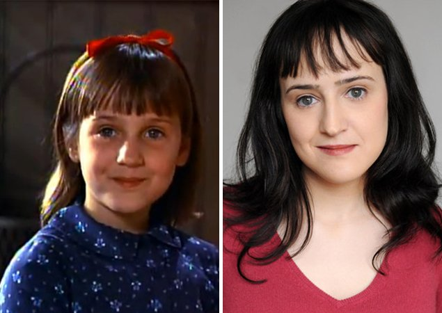 matilda antes y despues