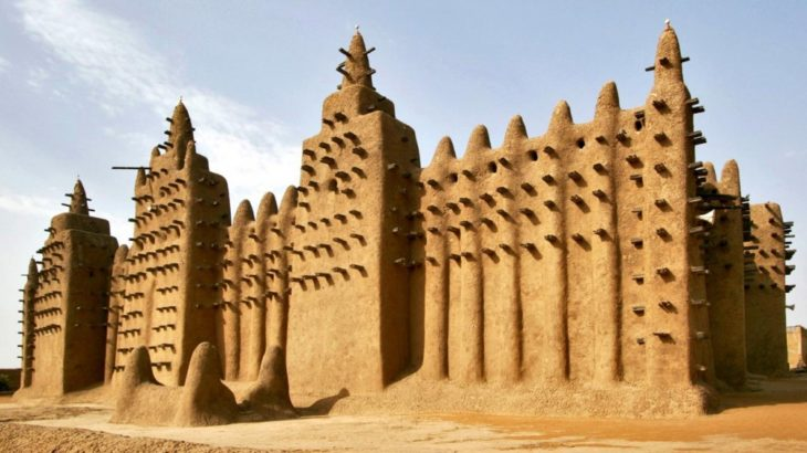 Mezquita en malí