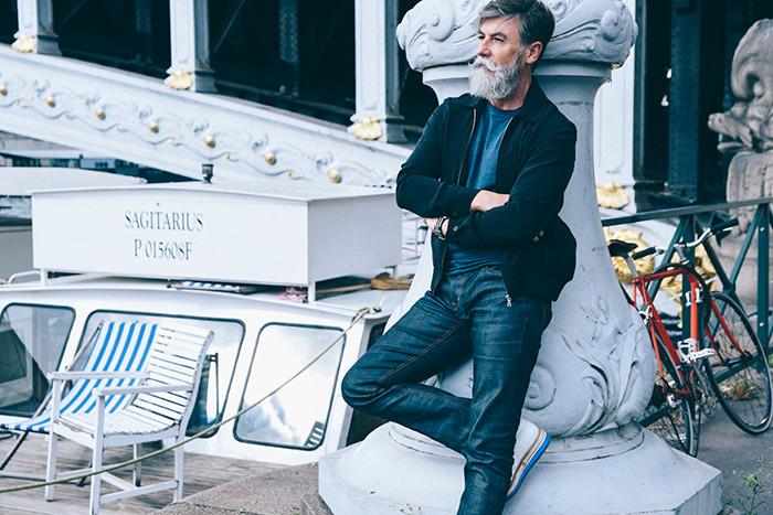 Phillip Dumas, modelo de 60 años